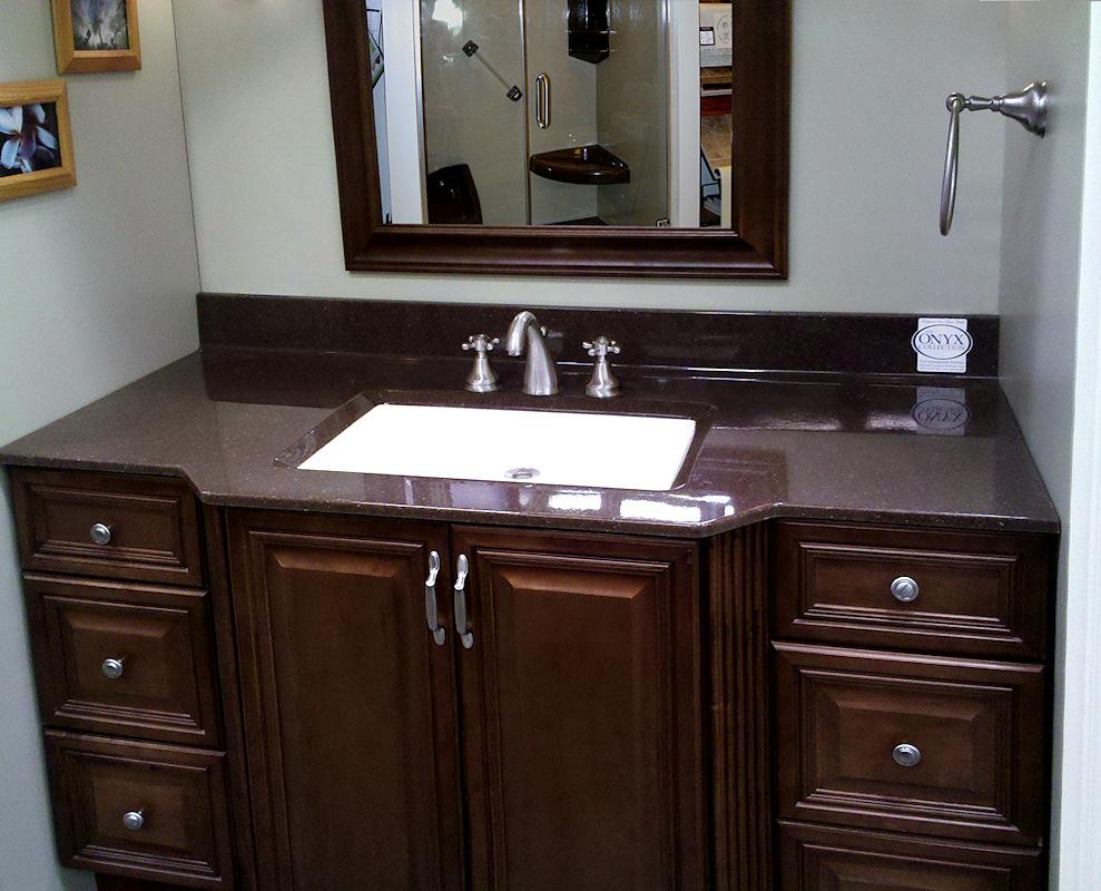 Custom Bathroom Cabinets Custom Laminate Countertops